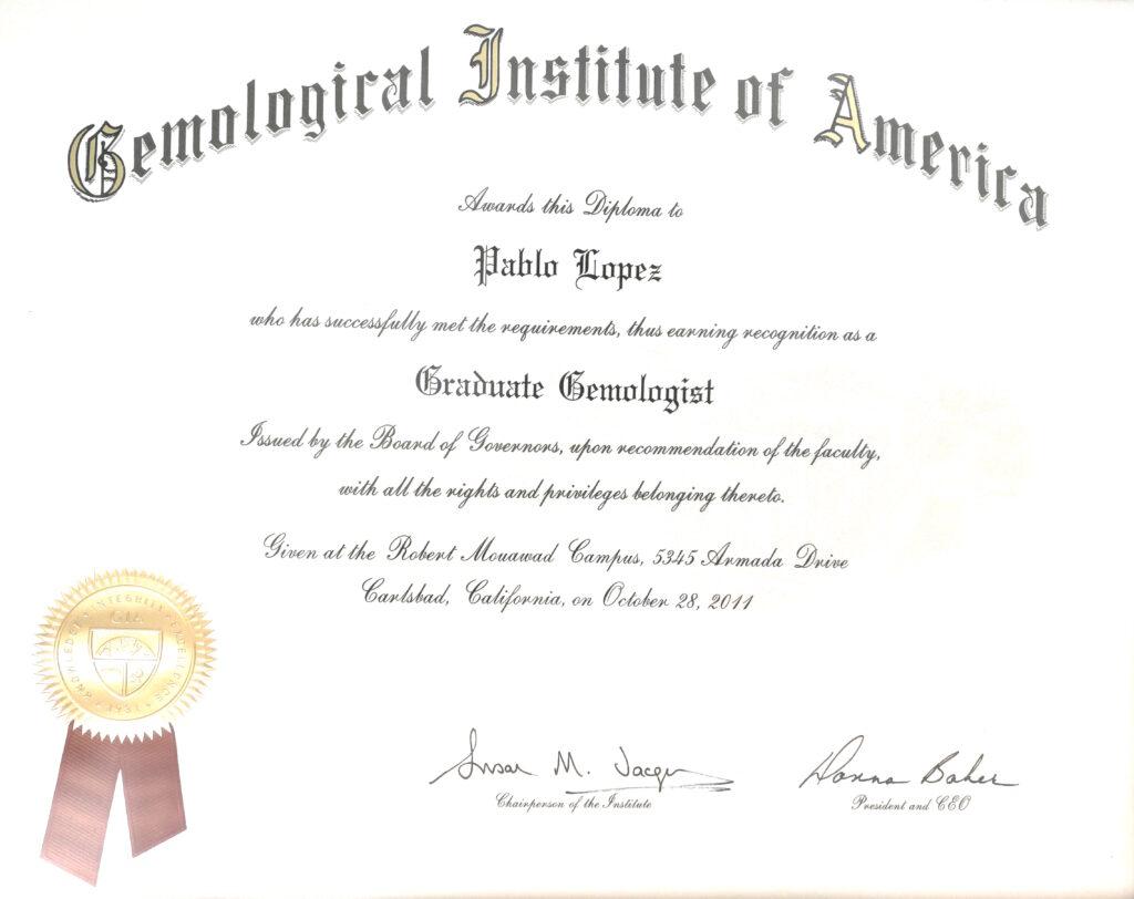 Diploma Gia